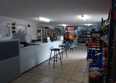 Inside shop - truck repairs Mackay - Mackay truck parts & repairs
